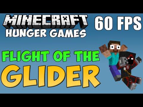 Minecraft Hunger Games | Flight of The Glider 60 FPS