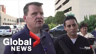 Hospital officials in Texas provide update on condition of shooting victims