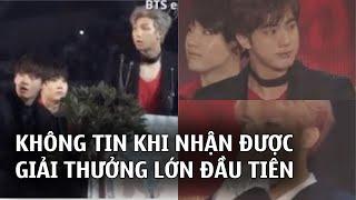 BTS - từ 1 nhóm nhạc vô danh,không tin khi nhận giải thưởng Daesang đến 1 tên tuổi lớn của Kpop