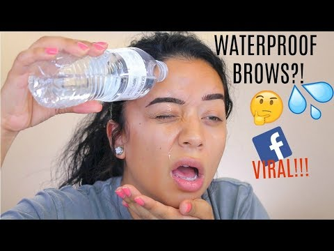 7 DAYS WATERPROOF EYEBROWS?! DOES IT WORK?