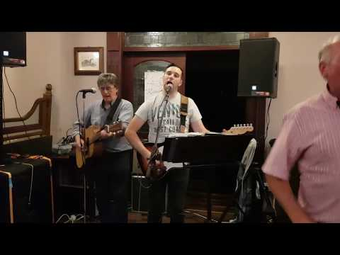 Rainbow singing Galway Girl in the Hunterstown Inn - 25th August 2019