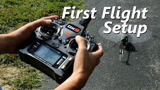 First flight and tuning - 230 S