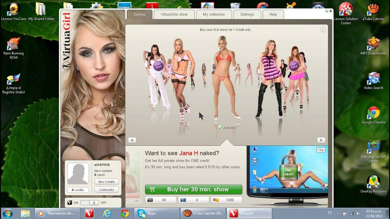 Virtual girl hd full show — pic 8