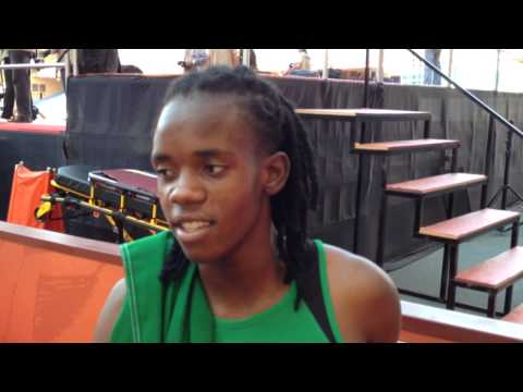 African Athletics Championships Marrakech 2014: Kabange Mupopo - Zambia - Women's 400m Silver medal