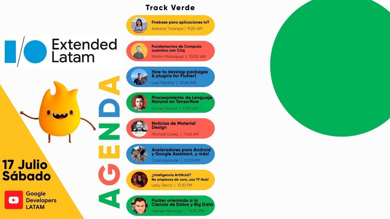 Google I/O Extended LATAM - Track Verde 🟢