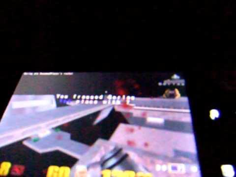 Quake3 on ANDROID (LG-LU2300, optimus Q)