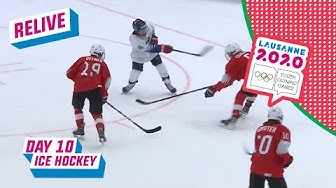 RELIVE - Ice Hockey - SWITZERLAND - USA - Day 10 | Lausanne 2020