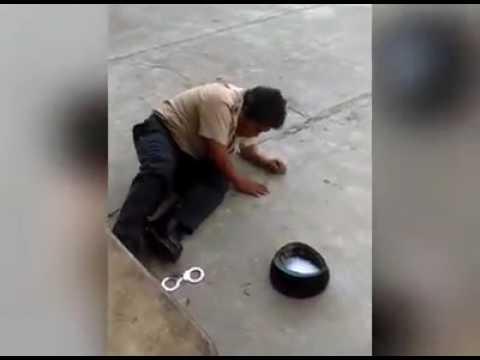 Police drunk in belize