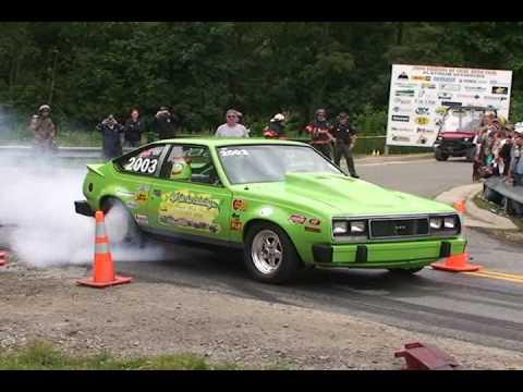 Rob Carrico Burn-out at Friends of Coal Auto Fair ...