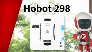 Hobot 298 A Window Cleaning Robot With Ultrasonic Spray System Youtube