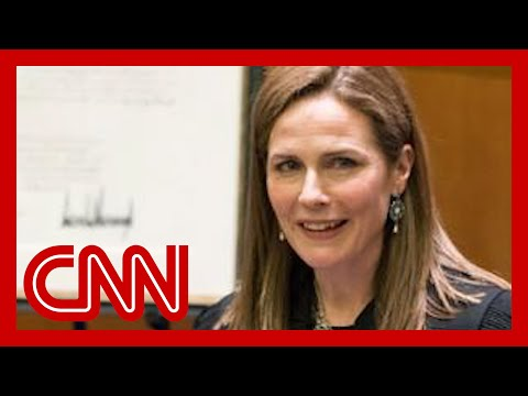 Sources: Trump intends to appoint Amy Coney Barrett to Supreme Court