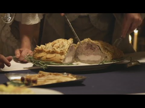 Traditional English Christmas foods in the Georgian times