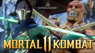 "MORTAL KOMBAT 11: Jade Vs Baraka High Level Gameplay - Mortal Kombat 11 ""Jade"" Gameplay"