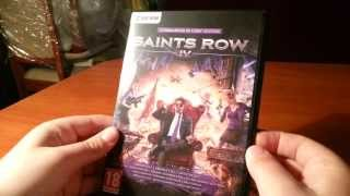 Saints Row IV Commander In Chief Edition (PC) Unboxing PL