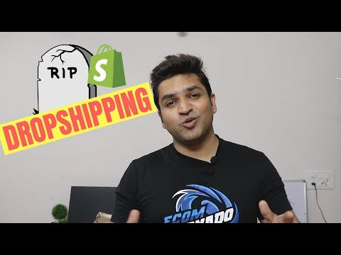 The TRUTH about Shopify Dropshipping for Beginners in 2018-2019! thumbnail