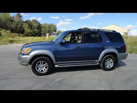 2004 toyota sequoia 4wd sr5 tour walk around review start up 2014 Sequoia SR5 Interior 2004 toyota sequoia 4wd sr5 tour walk around review start up
