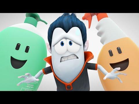 Funny Animated Cartoon | Brand New Spookiz Culas Kitchen Chemical Nightmare | Cartoon for Children