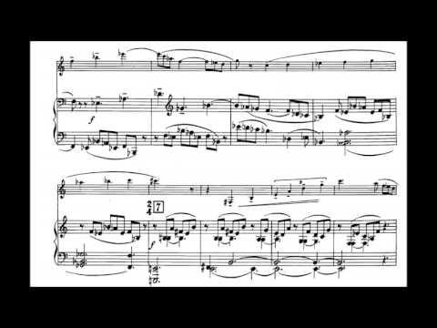 Hindemith Clarinet Sonata I Mov