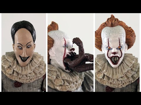 NECA TOYS IT MOVIE 2017 DANCING PENNYWISE THE CLOWN REVIEW