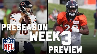 Preseason Week 3 Preview: Most Important Players to Watch & Biggest Storylines | Total Access | NFL