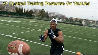 """Football Players NEED This Training #1 """"Football Training"""" Resource Online """"Twice The Speed"""""""