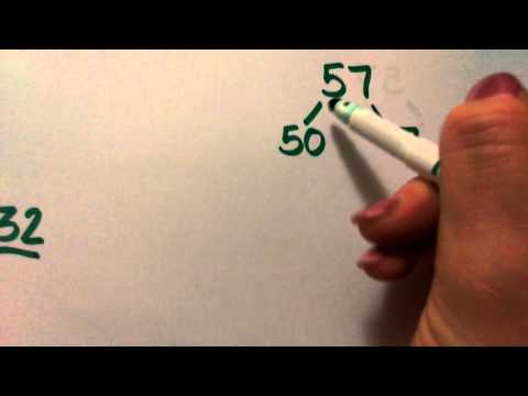 Halving numbers using partitioning