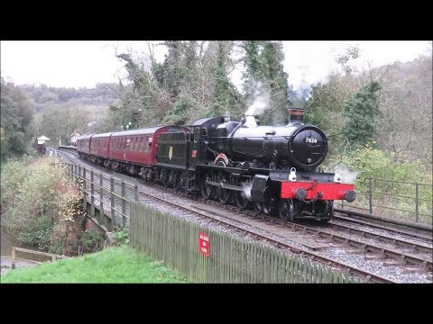 Churnet Valley Railway, 25th Anniversary Steam Gala, Saturday 21st October 2017