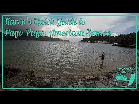 Karen's Quick Guide To Pago Pago, American Samoa
