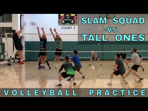Slam Squad vs Tall Ones | Last Volleyball Open Gym Before Nationals (5/16/19)