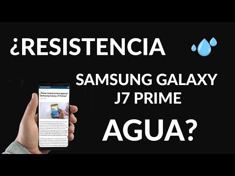 ¿Tiene Resistencia al Agua el Samsung Galaxy J7 Prime?