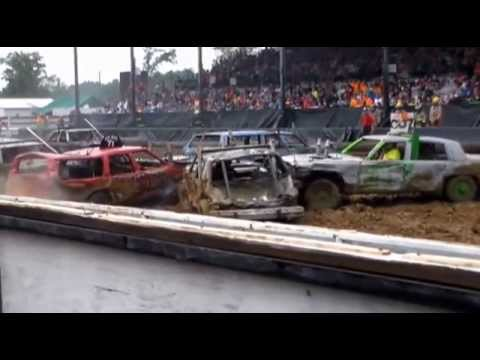 Marion county demo derby Heat 1