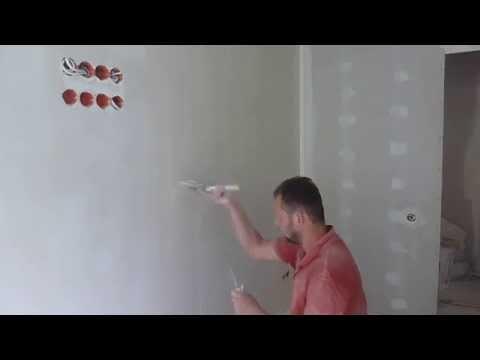 видео: Шпаклевка валиком
