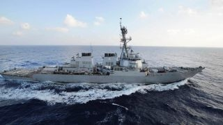 Iranian vessel approaches US Navy destroyer in Persian Gulf