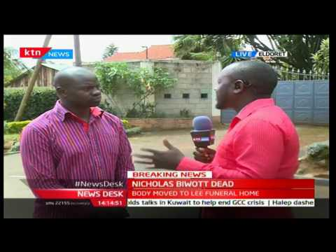Updates on Nicholas Biwott's Death (Eldoret home ground)