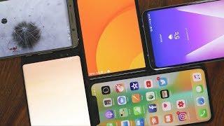 Randlose Smartphones im Vergleich - da geht noch was! | iPhone X, LG V30 und mehr