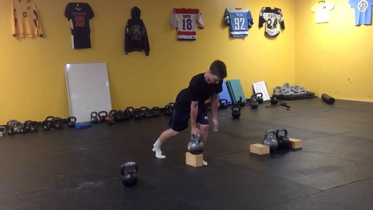 Explosive Kettlebell Workout For Baseball Athletes