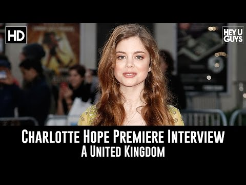 Charlotte Hope LFF Premiere   A United Kingdom