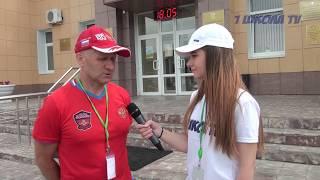 Первый этап Кубка России по лыжероллерам в городе Бутурлиновка день первый
