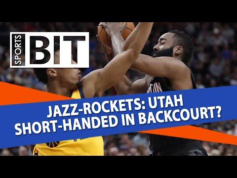 Utah Jazz at Houston Rockets, Game 5 | Sports BIT | NBA Picks