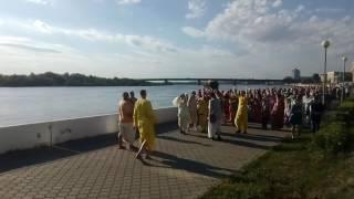 Нашествие в Омске кришнаитов...