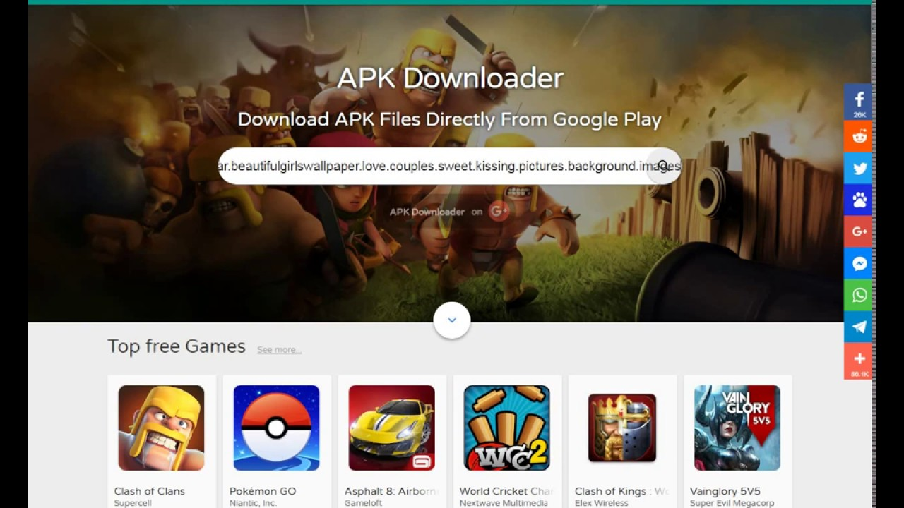 How to Download APK Files From Google Play Store to laptop or PC Directly