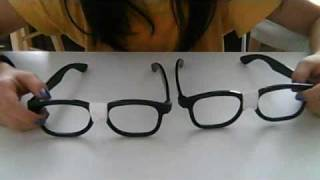 How to make nerd glasses