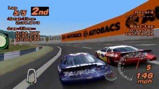 Gran Turismo 2 custom race - NASCAR