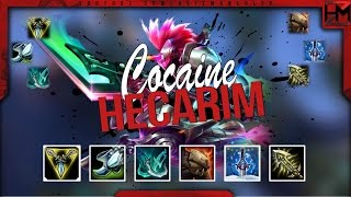MOST OP HECARIM BUILD?! COCAINE HECARIM JUNGLE IS CRAZY - League of Legends