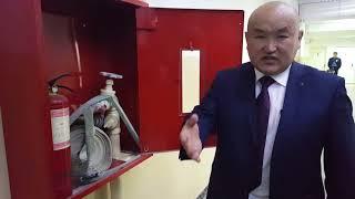 Техника пожарной безопасности в ЦУМе
