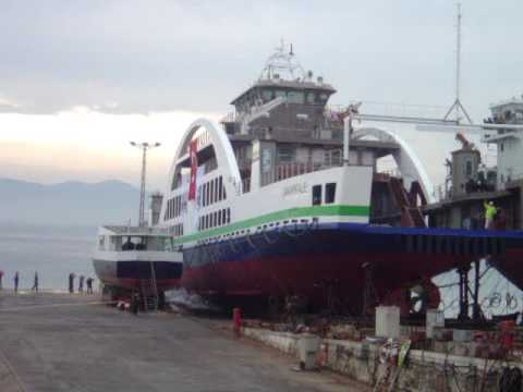 Car Passenger Ferry Launching
