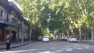 Durazno Uruguay, una ciudad con calles techadas.