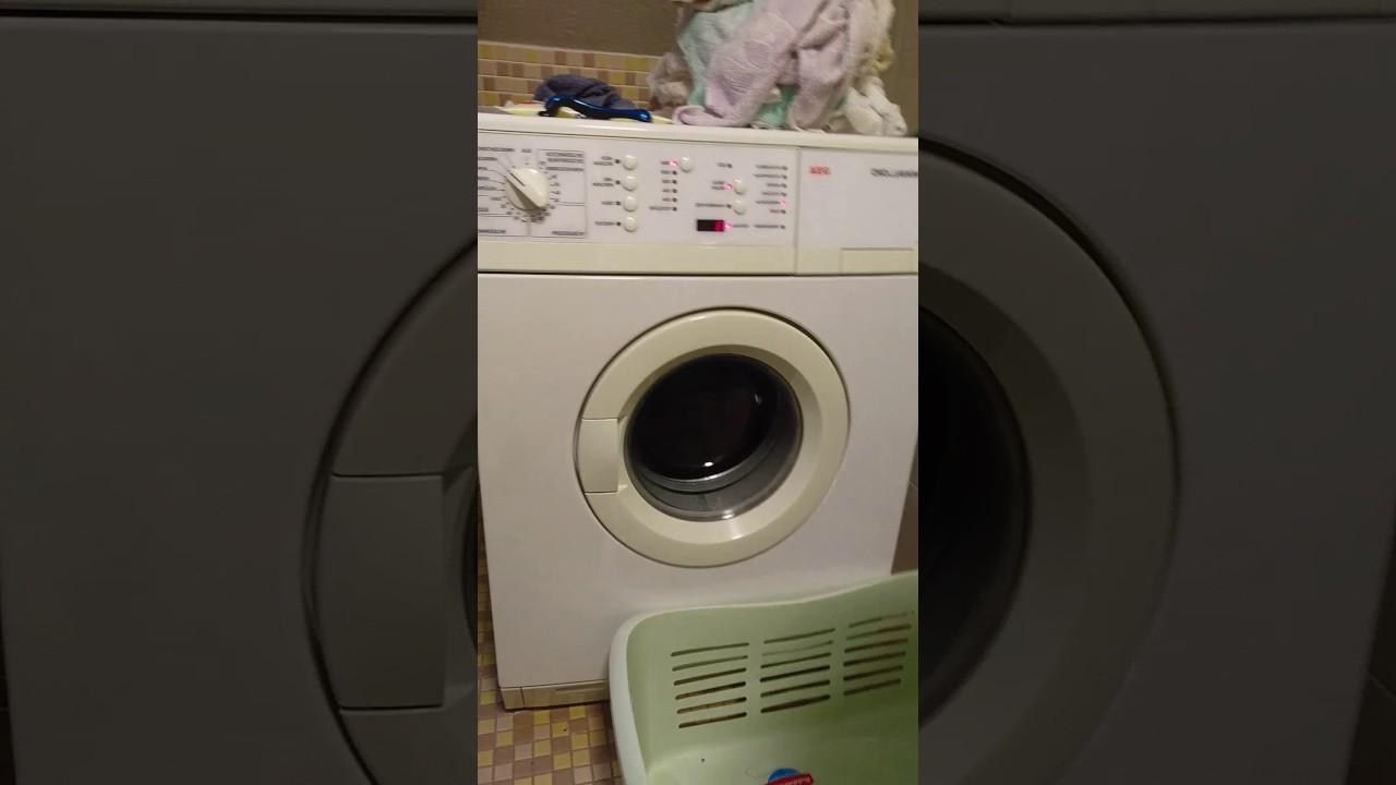 aeg lavamat lagerschaden waschmaschine youtube