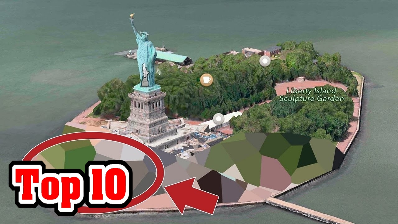 Top 10 Places GOOGLE EARTH Is HIDING FROM YOU YouTube