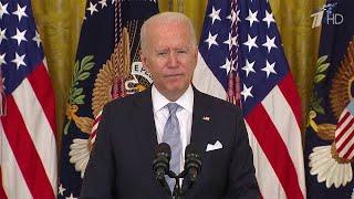 Президент США Джо Байден задумался об обязательной вакцинации от коронавируса